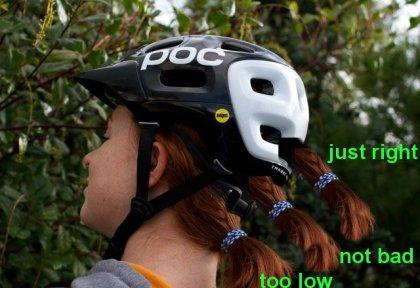 ponytail helmet